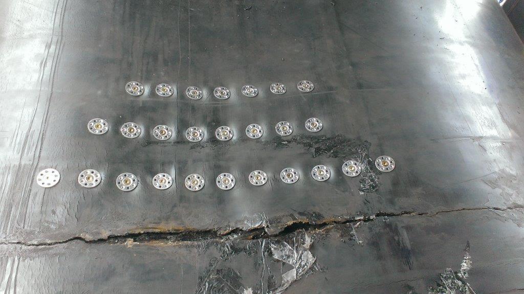 La reparación y refuerzo de vulcanización con PWS Connect.
