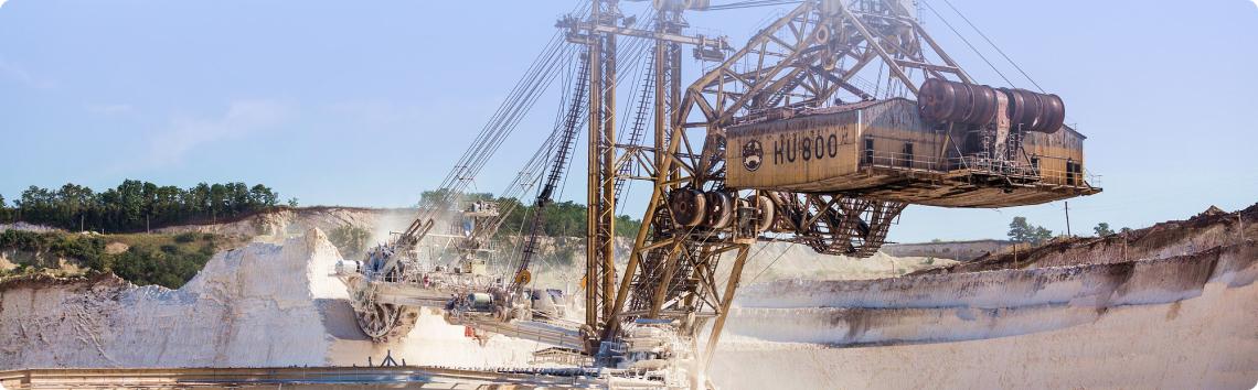 Plantas de minería y ,  procesamiento